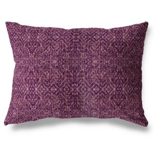 Kavka Designs Lumbar Pillow Pattern Print